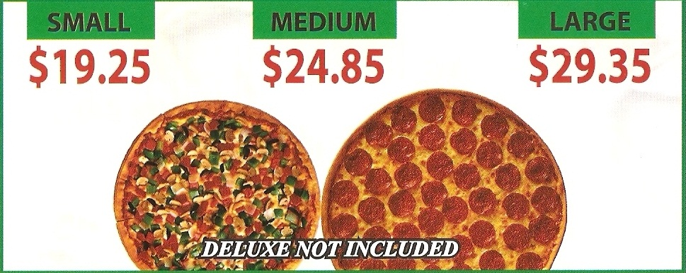 2 Pizza Deals